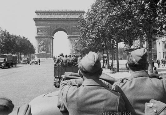 2. Weltkrieg Wehrmacht Europa – Einmarsch und Besetzung Frankreich - Paris Triumphbogen