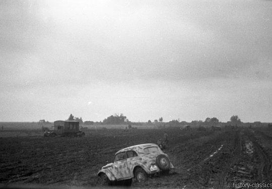 2. Weltkrieg Wehrmacht Heer – Schlammig im Niemandsland der Ostfront
