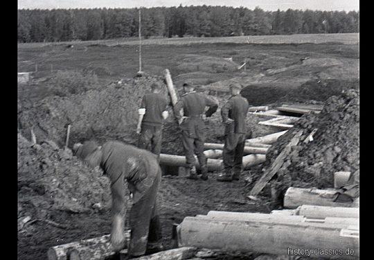 2. Weltkrieg Wehrmacht Heer – Maßarbeit für den Stellungskrieg im Niemandsland der Ostfront