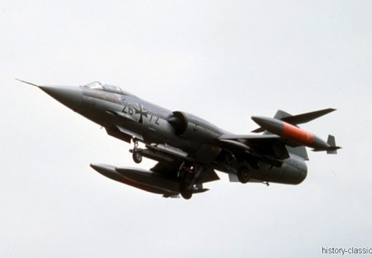 Bundeswehr Bundesmarine Lockheed F-104G Starfighter