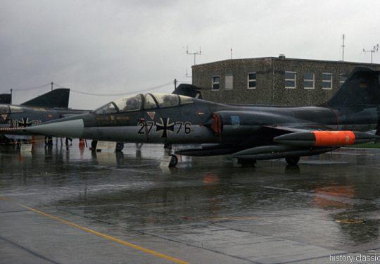 Bundeswehr Luftwaffe Lockheed F-104F Starfighter