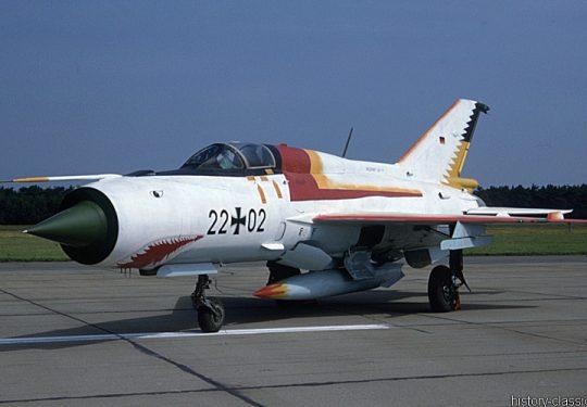 Bundeswehr Luftwaffe Mikojan-Gurewitsch MiG-21