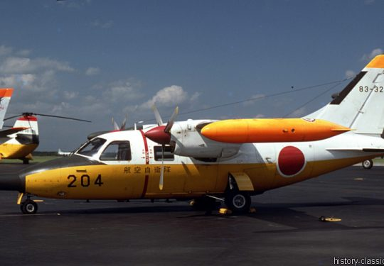 Japanische Luftwaffe JASDF Mitsubishi MU-2