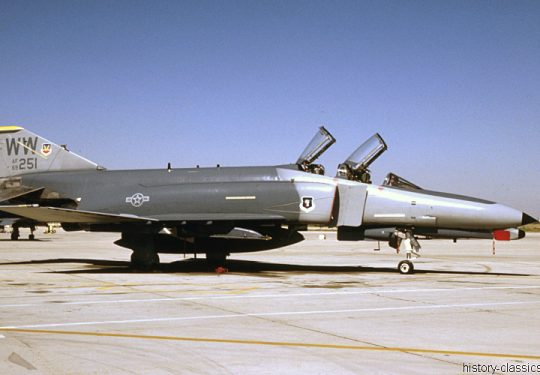 USAF United States Air Force McDonnell Douglas F-4G Phantom II / Wild Weasel V