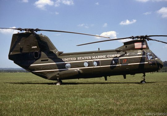 USMC United States Marine Corps Boeing-Vertol CH-46F