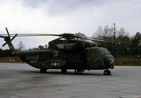 USMC United States Marine Corps Sikorsky CH-53D Sea Stallion