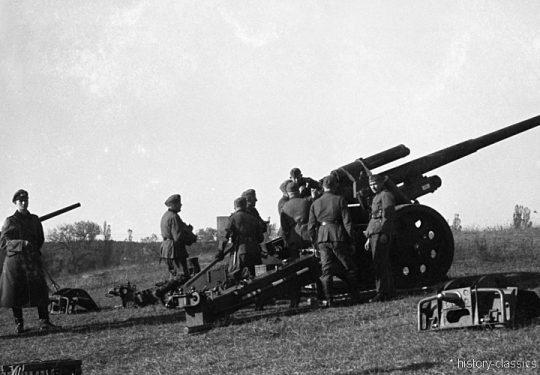 Wehrmacht Heer Ausbildung – Artillerie Regiment 39 - Schwere Kanone s.K 18 10 cm (10,5 cm)