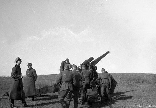 Wehrmacht Heer Schwere Kanone s.K 18 10 cm (10,5 cm)