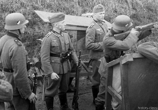 Wehrmacht Heer Ausbildung – Artillerie Regiment 39 - Schießstand