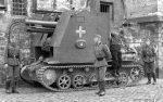 Wehrmacht Heer Sturmpanzer I / Bison I mit sIG 33