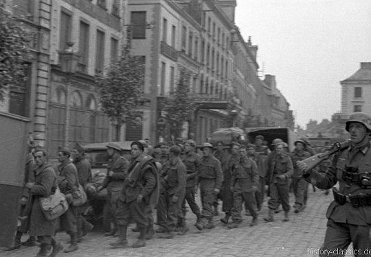 2. Weltkrieg Wehrmacht Europa – Einmarsch und Besetzung Frankreich - Kriegsgefangene