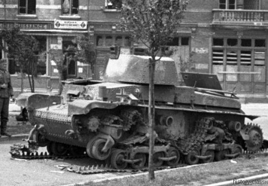 Wehrmacht Heer Panzerkampfwagen Beutefahrzeug (Tschechoslowakei) 35(t) PzKpfw 35 (t) - Einmarsch und Besetzung Frankreich