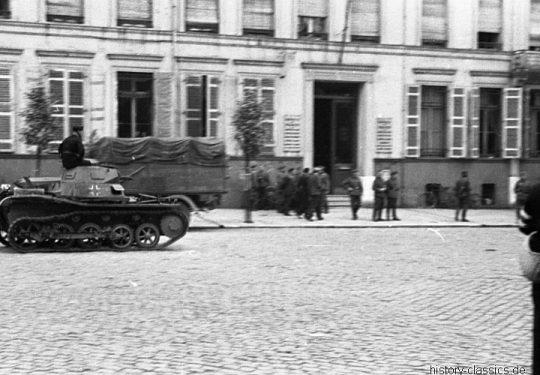 Wehrmacht Heer Panzerkampfwagen I PzKpfw I Panzer I Ausf. A - Einmarsch und Besetzung Frankreich