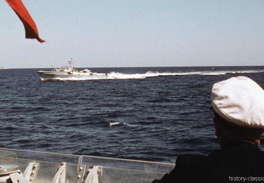 Bundesmarine Schnellboot Typ 141 Seeadler-Klasse / Federal German Navy Fast Attack Craft - P6074 Bussard