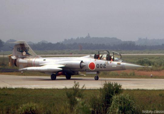 Japanische Luftwaffe JASDF Lockheed F-104DJ Starfighter