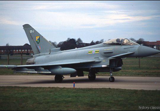 ROYAL AIR FORCE Eurofighter Typhoon FGR4