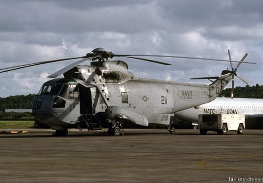 US NAVY / United States Navy Sikorsky UH-3H Sea King