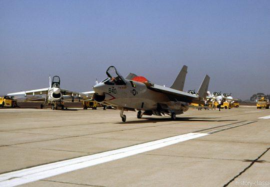 US NAVY / United States Navy Vought RF-8G Crusader