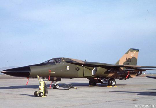 USAF United States Air Force General Dynamics F-111F Aardvark