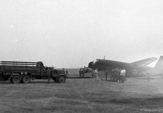 Wehrmacht Luftwaffe Junkers Ju 52/3m g4e