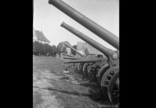 Wehrmacht Heer Feldgeschütz Canon de 120 mm / 155 mm modèle 1878 / 1877 - Beutegeschütz