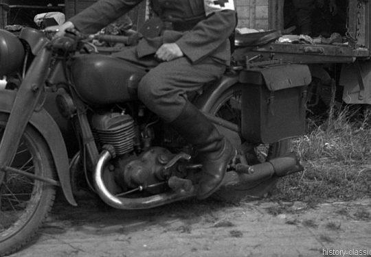 Wehrmacht Heer Motorrad Triumph BD 250