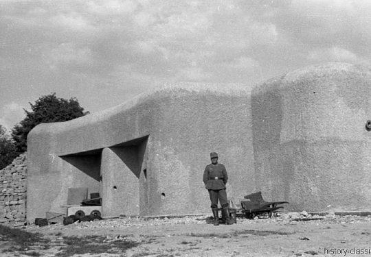 2. Weltkrieg Wehrmacht Heer Europa – Bunker