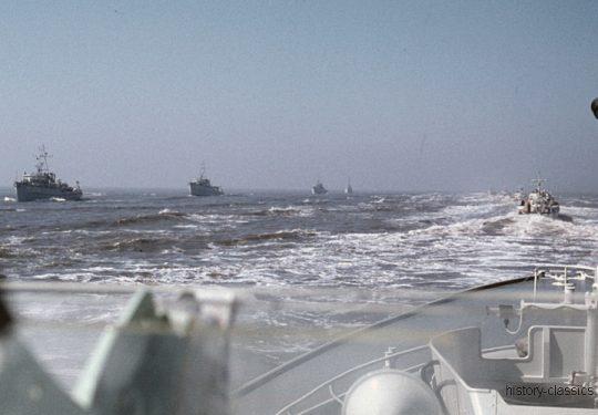 Bundesmarine Schnellboot Typ 141 Seeadler-Klasse / Federal German Navy Fast Attack Craft - P6077 Kormoran