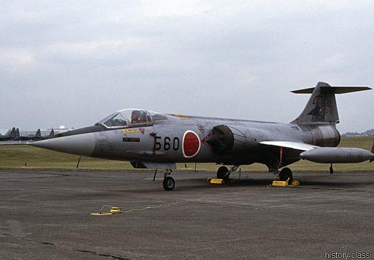 Japanische Luftwaffe JASDF Lockheed F-104J Starfighter