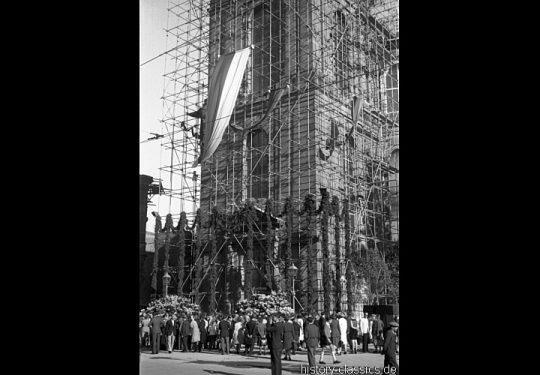 Ruinen und Wiederaufbau Frankfurt am Main 1945 bis 1949 - Paulskirche