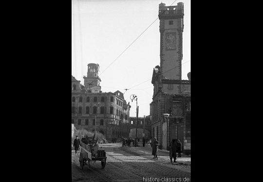 Ruinen und Wiederaufbau Frankfurt am Main 1945 bis 1949 - Rathau