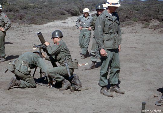 US ARMY / United States Army Mörser / Mortar M1 3.2 inch 81 mm