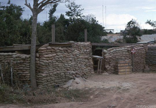 USA Vietnam-Krieg / Vietnam War – Bunker