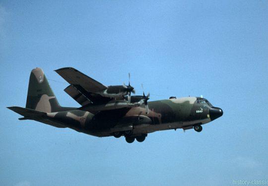 USAF United States Air Force Lockheed C-130E Hercules