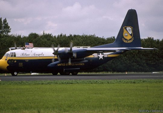 USMC United States Marine Corps Lockheed C-130T Hercules - Blue Angels