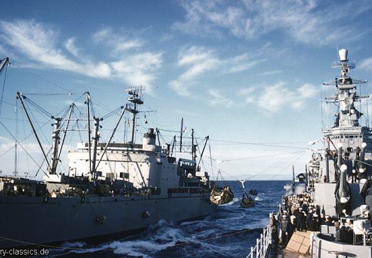 US NAVY / United States Navy Schwerer Kreuzer Des Moines-Klasse / Heavy Cruisers Des Moines-Class - USS Des Moines CA-134