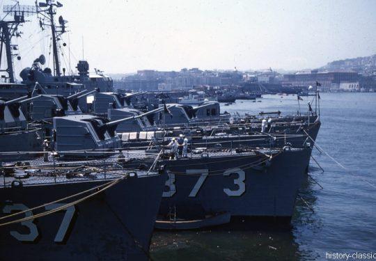 US NAVY / United States Navy Zerstörer Gearing-Klasse / Destroyer Gearing-Class - USS Hawkins DD-873 / USS Myles C. Fox DD-829 / USS William R. Rush DD-714