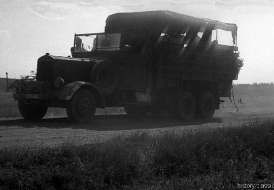 Wehrmacht Heer / Luftwaffe Mercedes-Benz LG 3000