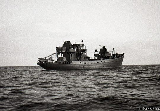 Wehrmacht Kriegsmarine Kriegsfischkutter KFK 55