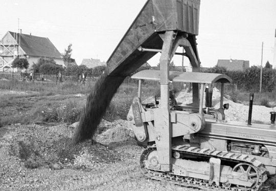 Überkopflader Hanomag K90