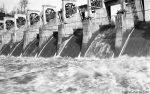 Staudamm Great Falls Tennessee / Dam Great Falls Tennessee