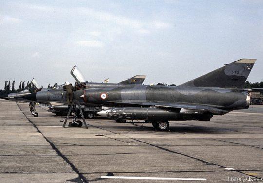Französische Luftwaffe / French Air Force / l'Armée de l'Air Dassault Mirage IIIC
