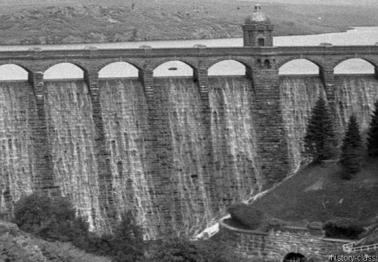 Staudamm Pen y Garreg Wales / Pen y Garreg Dam Elan Valley
