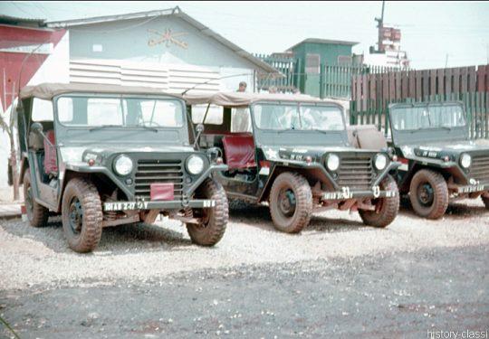 US ARMY / United States Army Geländewagen / Jeep Ford M151 MUTT