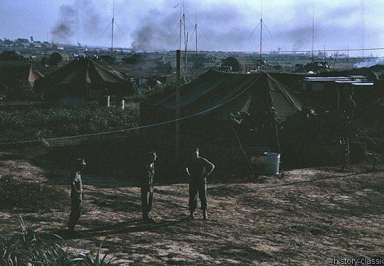 USA Vietnam-Krieg / Vietnam War  - USMC United States Marine Corps 3rd Marine Division / 12th Marine Regiment - Dong Ha