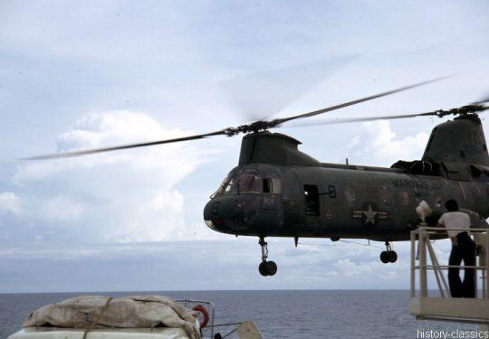 USMC United States Marine Corps Boeing-Vertol CH-46A Sea Knight