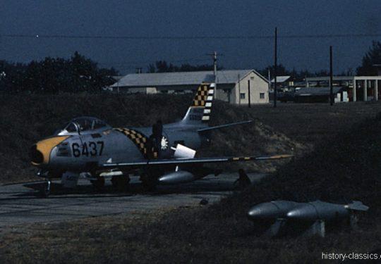 Republic of China Air Force ROCAF (Taiwan) North American F-86F Sabre