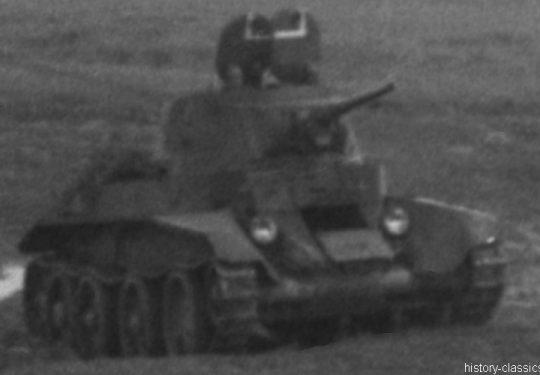 2. Weltkrieg Sowjetarmee / Rote Armee – Ostfront - Schneller Panzer BT-7
