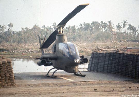 US ARMY / United States Army Bell AH-1G Cobra - USA Vietnam-Krieg / Vietnam War