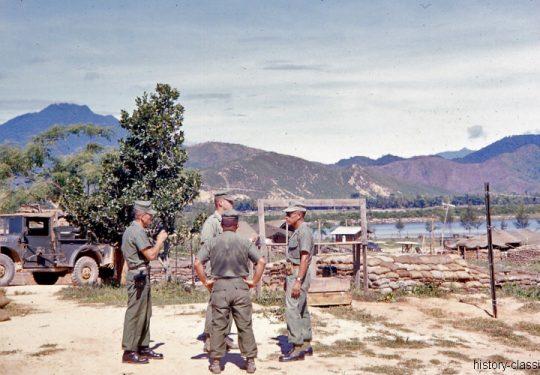 USA Vietnam-Krieg / Vietnam War  - USMC United States Marine Corps 3rd Marine Division / 1st Battalion Whiskey Battery Da Nang